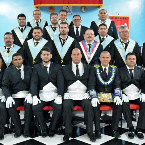 Loja Maçônica Acácia da Boa Esperança inicia novos membros em Padre Marcos