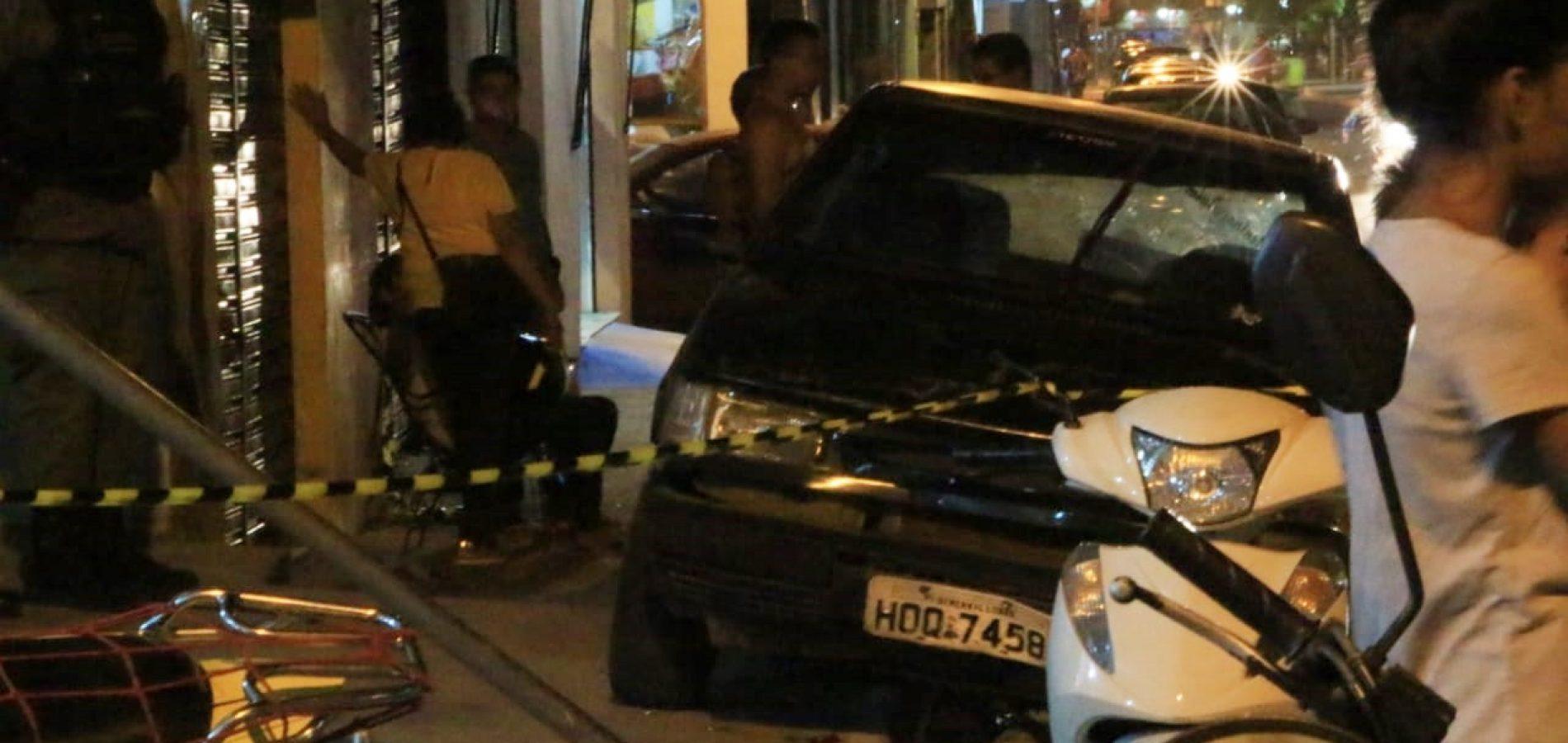 Acidente entre carro e moto deixa mulher ferida no Piauí