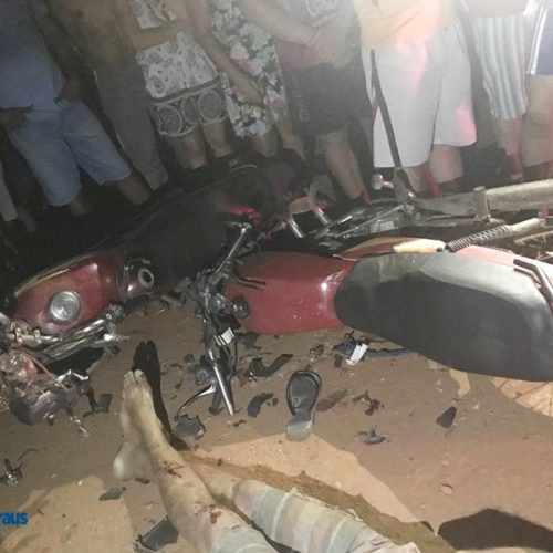 Colisão frontal entre motocicletas deixa vítima fatal em Geminiano