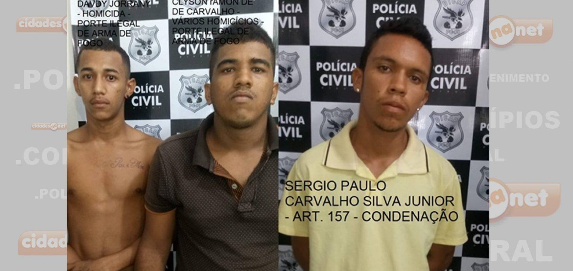 Acusados de homicídios trocam tiros com policias no Piauí