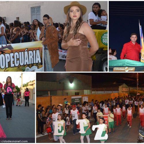 Padre Marcos mostra sua cultura em desfile cívico pela comemoração da Independência do Brasil