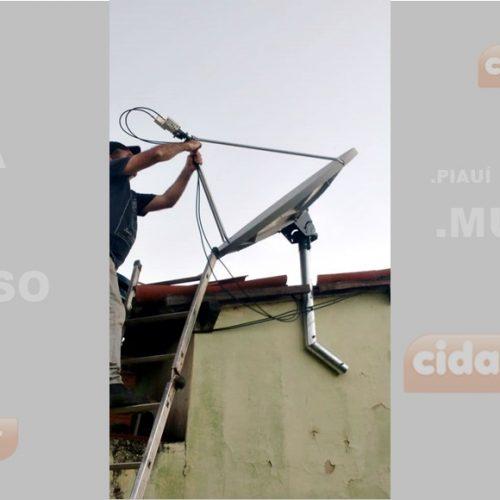 PIO IX recebe Projeto Piauí Conectado; aquisição foi viabilizada pelos líderes do PT local