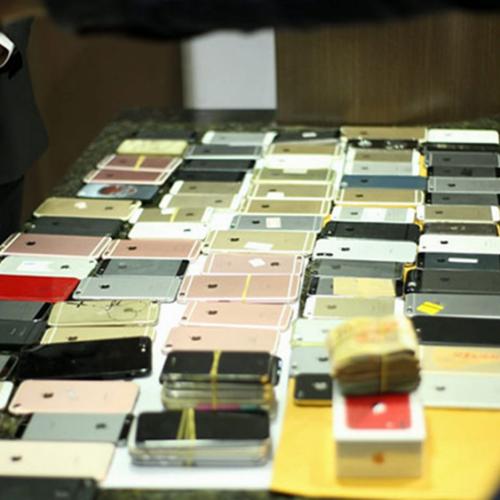 Polícia recupera 200 Iphones com quadrilha que criou até site fake da Apple