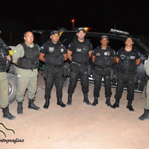 """Polícia do Piauí e Pernambuco realizam operação """"Divisa Segura"""" em Marcolândia"""