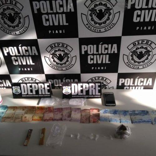 Polícia prende acusados de tráfico de drogas no Piauí