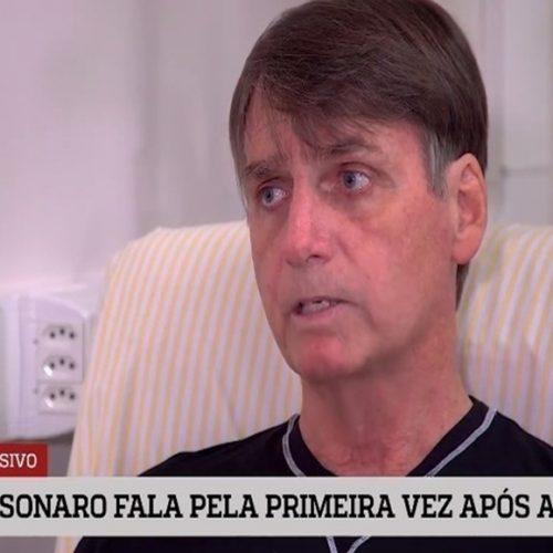 Bolsonaro fala pela 1ª vez após ataque e pede compreensão da militância