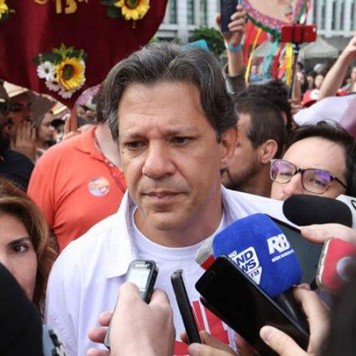 """""""2º turno tem que ser entre mim e Ciro"""", diz Haddad"""