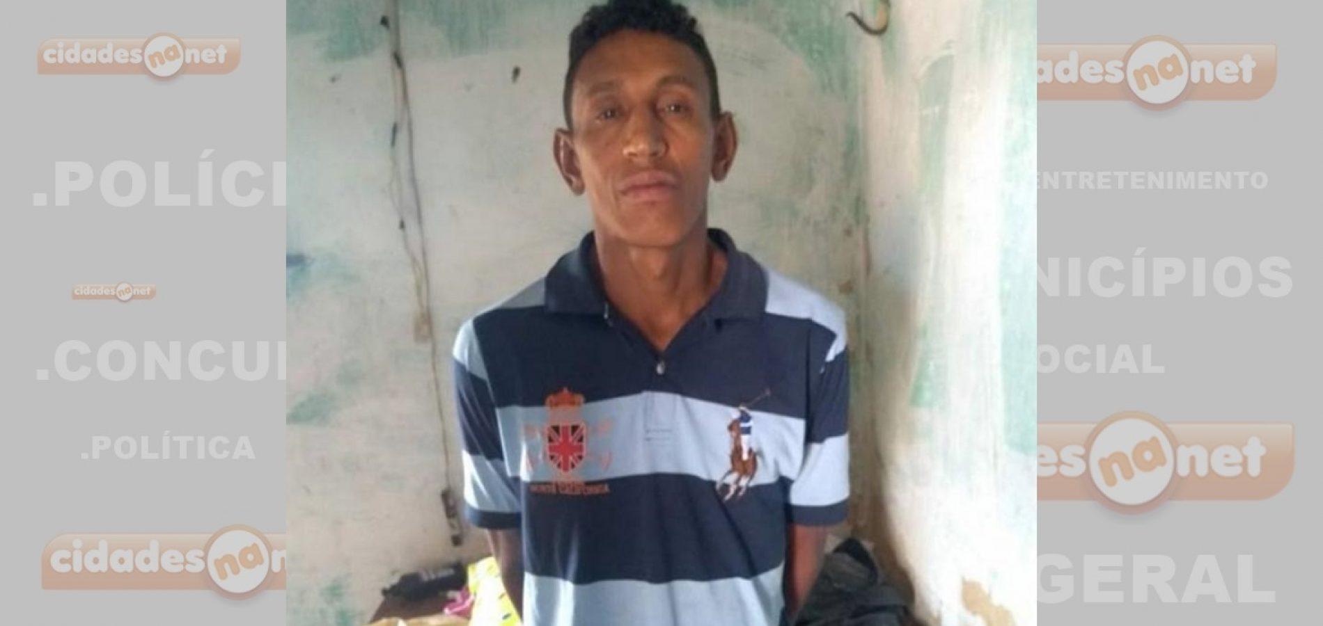 Cinco dias após ser flagrado pela PM com revólver, homem volta a ser preso dessa vez acusado de assalto em Picos