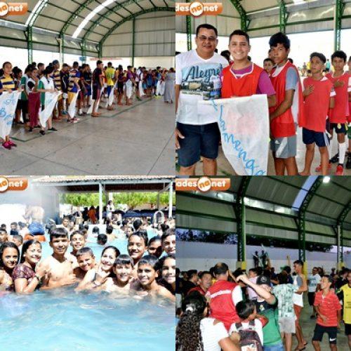 Em Alegrete, jogos escolares e dia de lazer integram a VII Semana Cultural MJM; veja fotos
