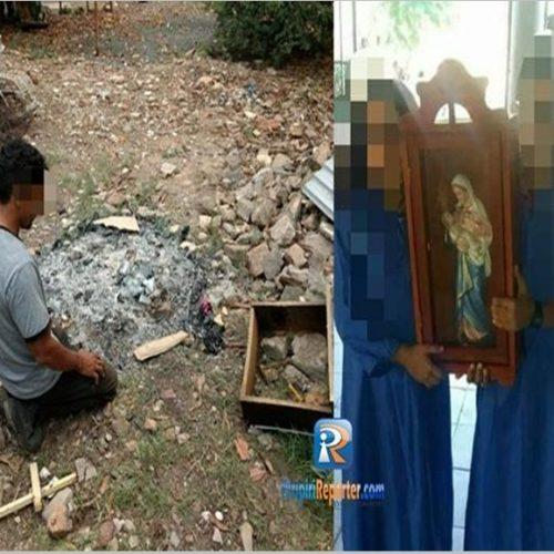 Polícia Civil prende homem que destruiu imagem de santa católica no Piauí