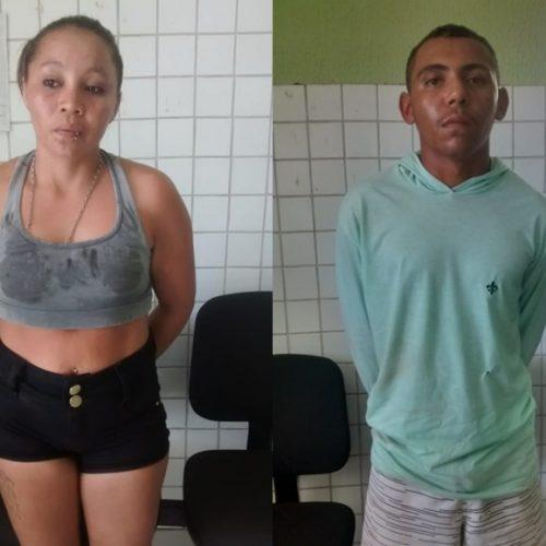 Homicida e comparsa são presos por tráfico de drogas no Piauí
