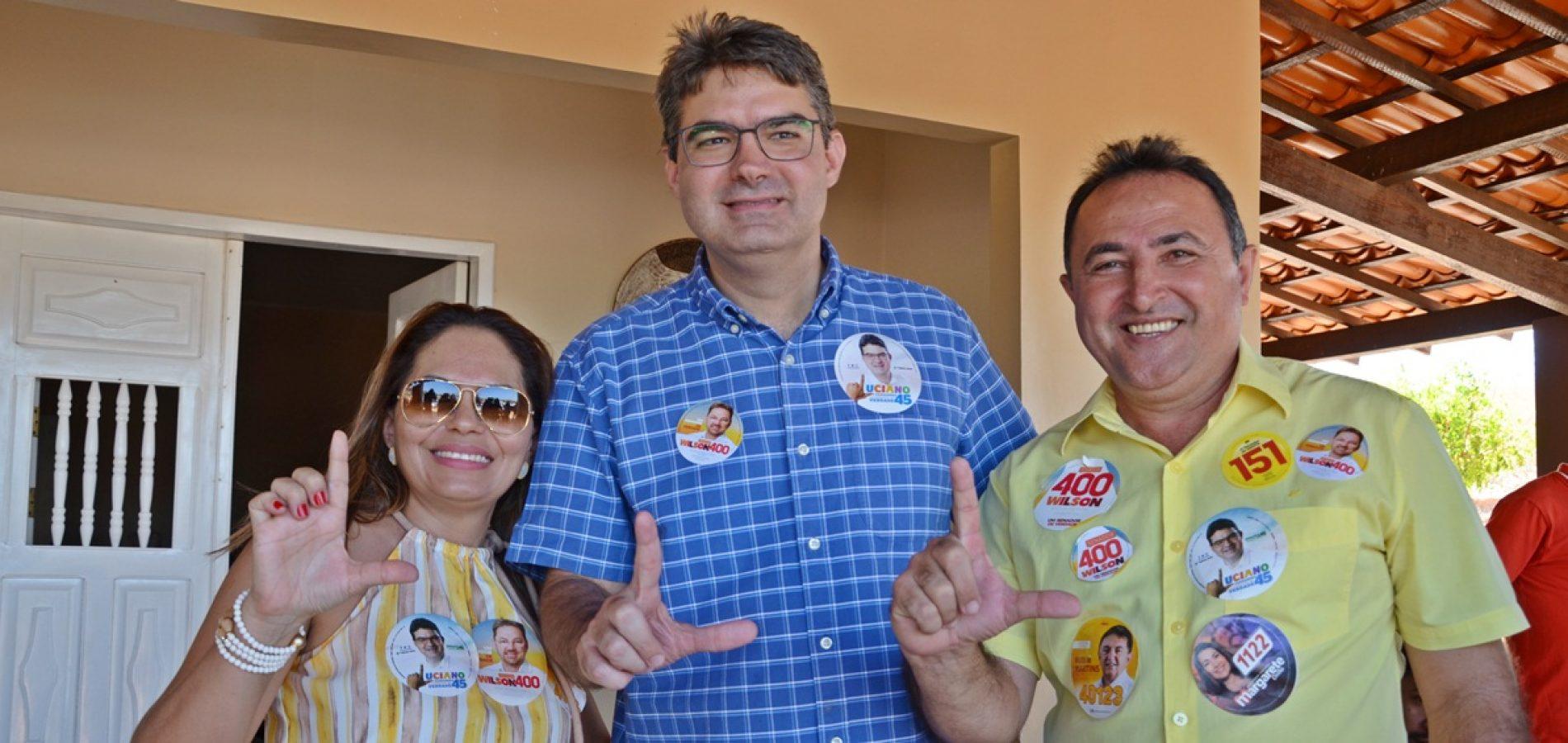 Luciano Nunesvisita Patos do Piauí e recebe adesão do prefeito Agenilson Dias