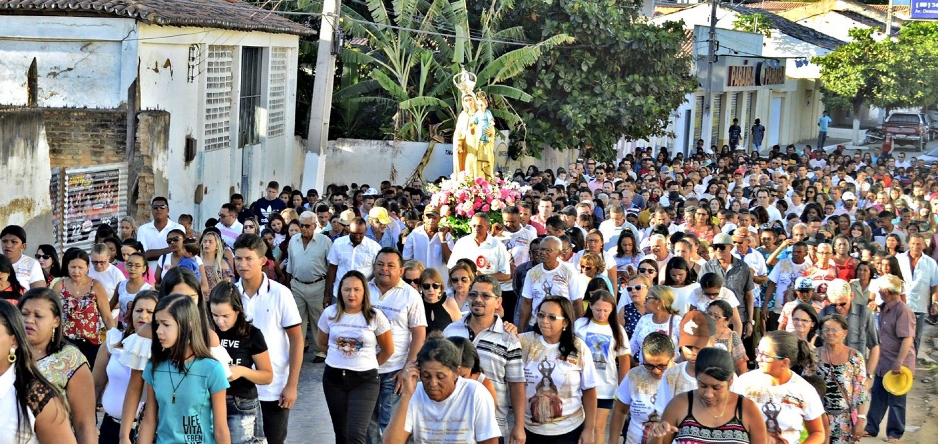 Em Jaicós, católicos celebram 295 anos de devoção a Nossa Senhora das Mercês; veja a programação