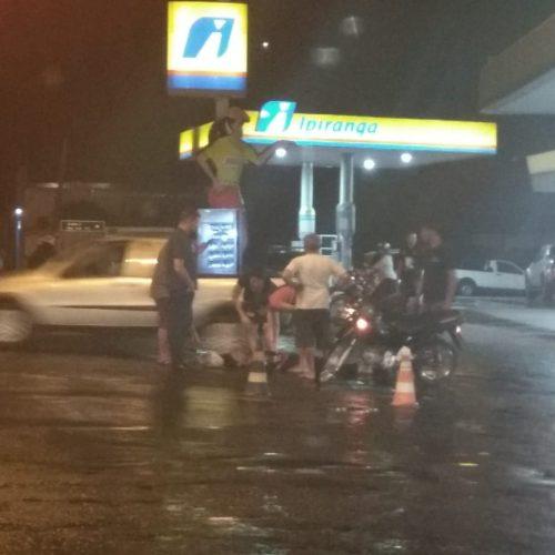 Mulher fica ferida em acidente no Piauí