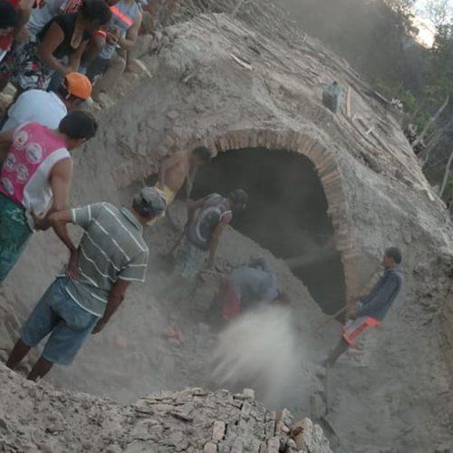Duas pessoas morrem soterradas em olaria no Piauí