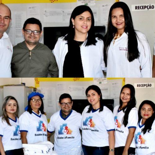 Prefeitura de Francisco Macedo realiza entrega de materiais para ACS e kits para Unidade Básica de Saúde