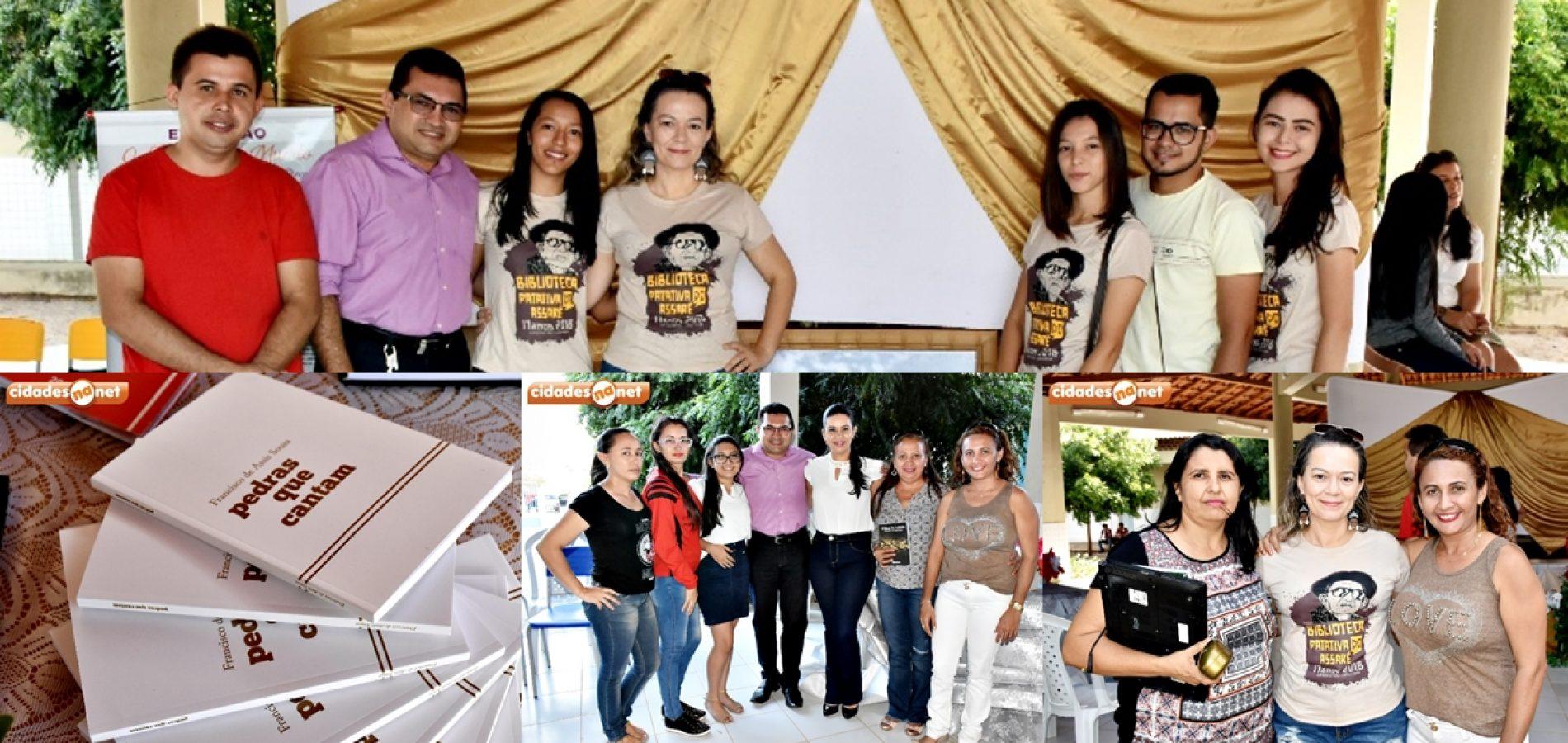VILA NOVA   Escola Zacarias Manoel da Silva lança livro e realiza palestra sobre Esperança Garcia. Veja!