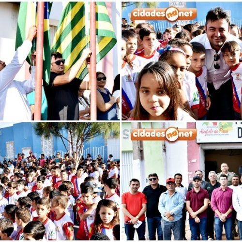 Prefeitura de Alegrete do Piauí realiza ato cívico em comemoração aos 196 anos da Independência do Brasil; fotos