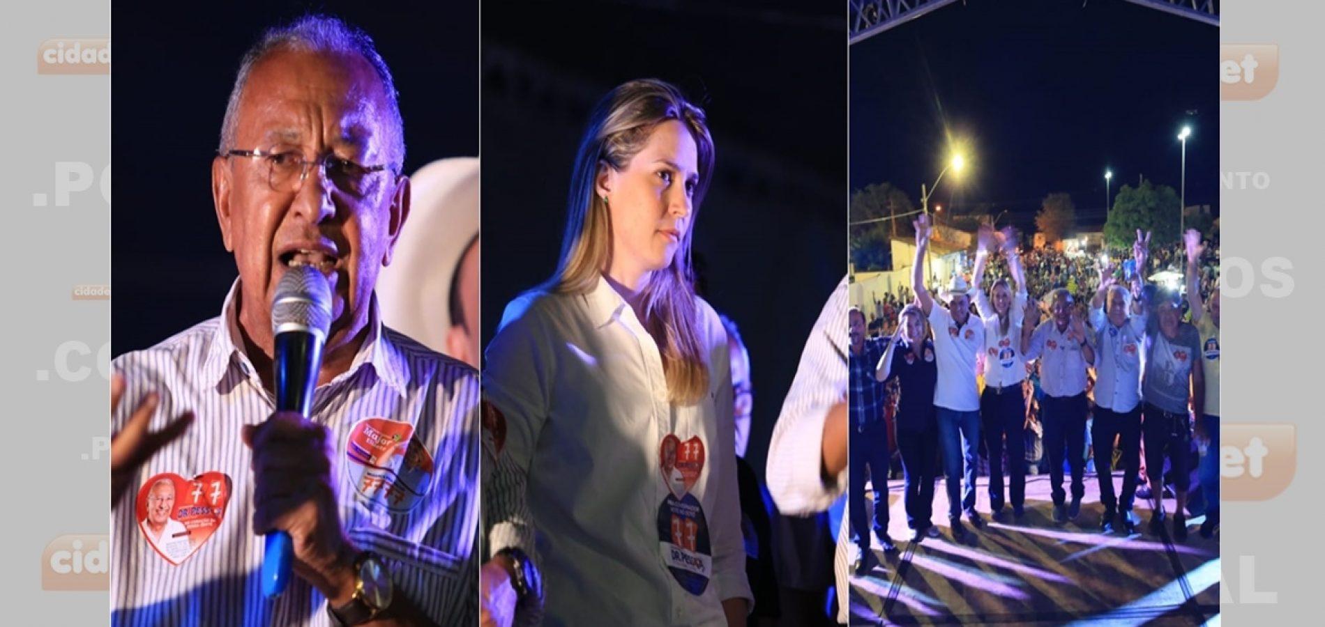 Dr. Pessoa recebe apoio de mais de 40 líderes políticos