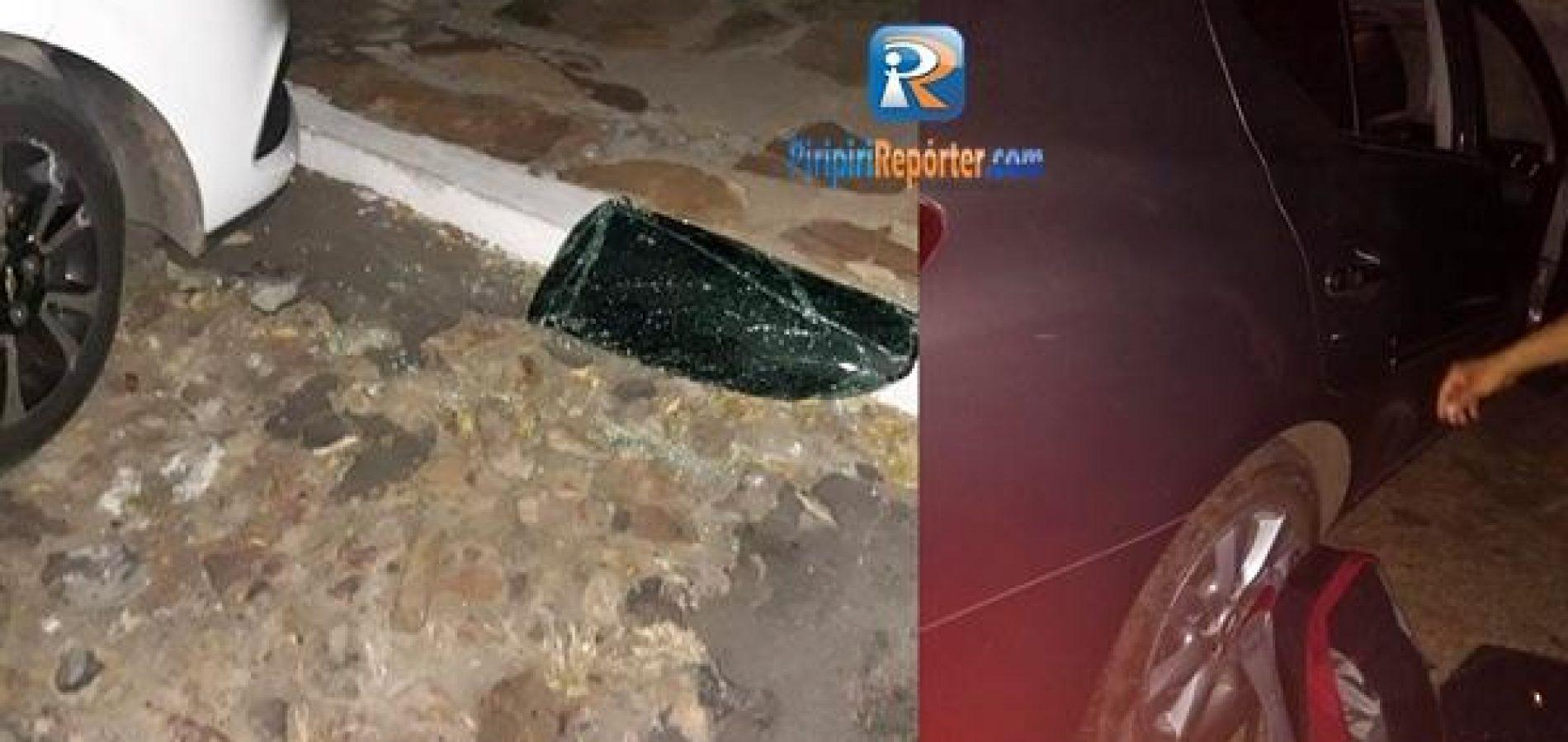 Enfermeira e professora têm carros arrombados e pertences furtados no Piauí