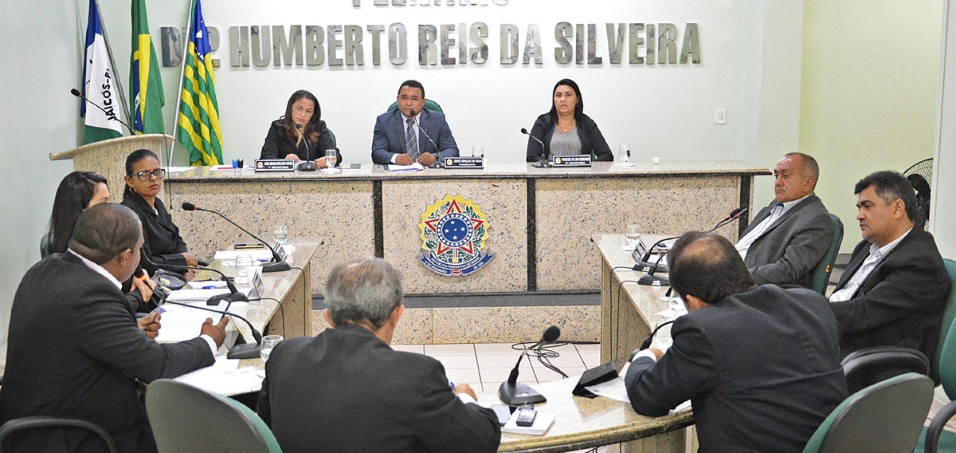 Confira a pauta da sessão desta quinta-feira (11) da Câmara Municipal de Jaicós