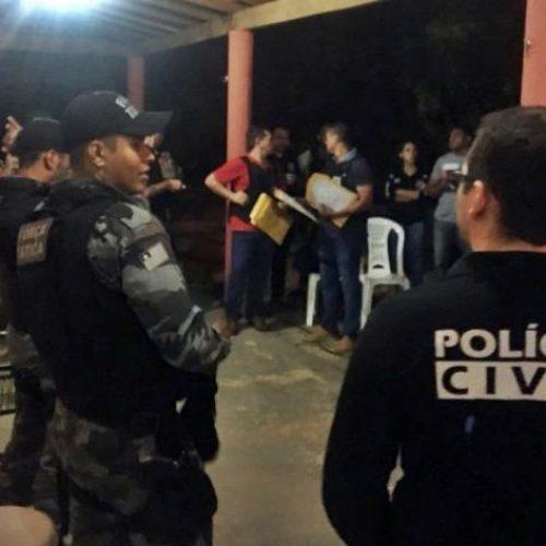 Polícia deflagra operação e prende acusados de tráfico de drogas no PI