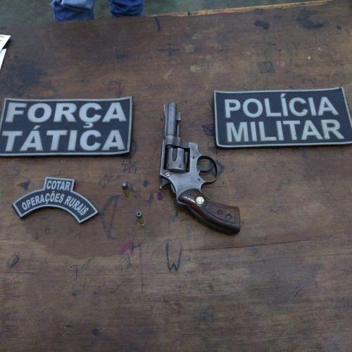 Arma exibida em rede social é apreendida e homem é preso em Caldeirão Grande do PI