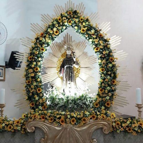 Área Pastoral de Acauã do Piauí inicia nesta terça, 25 de setembro, festa de São Francisco de Assis