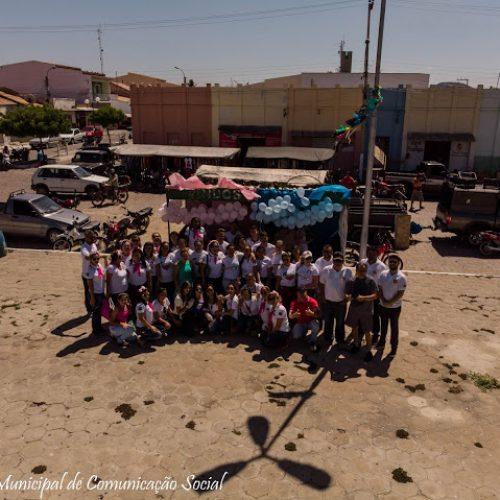 Fraternidade Feminina Estrelas Fronteirenses realizam Outubro Rosa e Novembro Azul em Fronteiras
