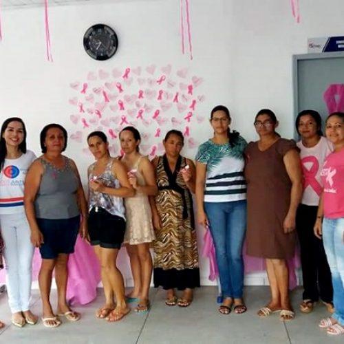 Saúde de Simões realiza ações da Campanha Outubro Rosa na UBS Veneza
