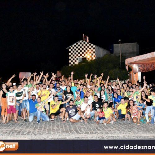 Apoiadores realizam carreata a favor de Bolsonaro em Alegrete do Piauí; veja fotos