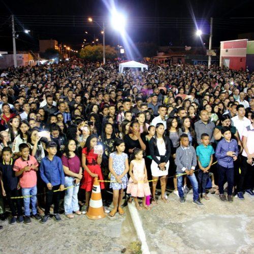 Projeto Quero Almas realiza impacto em Belém do PI e reúne multidão em cruzada evangelística