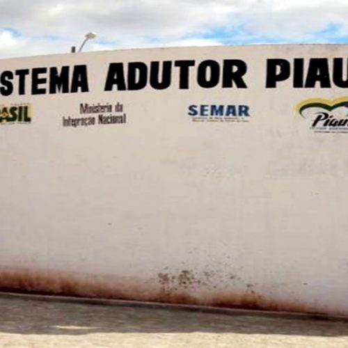 Falta de energia compromete abastecimento de água da Adutora de Piaus aos cinco municípios da região