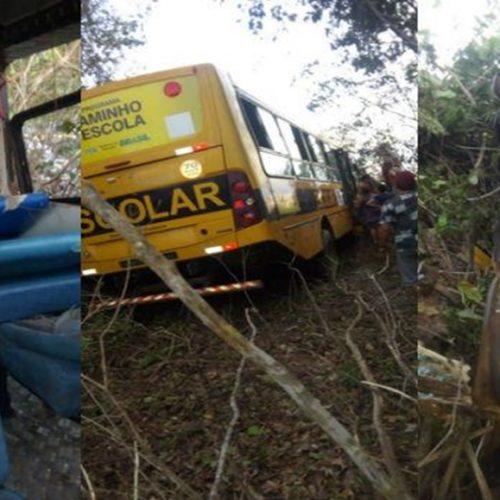 Acidente com ônibus escolar deixa 22 feridos no Piauí
