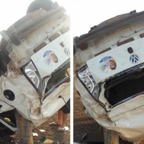 Secretário de cidade do Piauí sofre grave acidente na PI-115