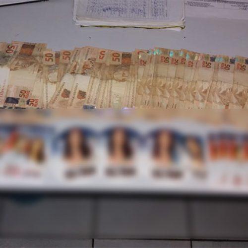 Homem é preso em Fronteiras com R$ 3 mil e santinhos de candidatos