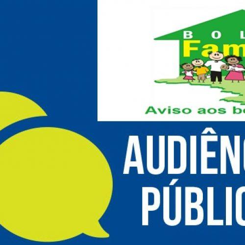 Prefeitura de Jaicós realizará audiência pública voltada para beneficiários do Bolsa Família