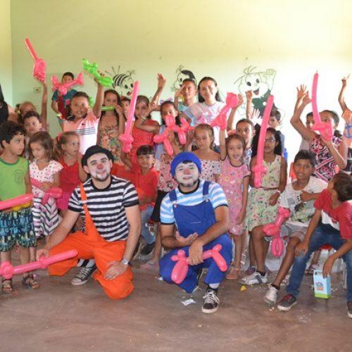Prefeitura de Vera Mendes encerra V Semana do Bebê com festa para crianças