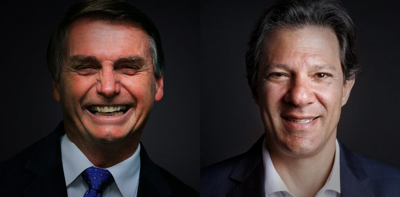 Bolsonaro, 59%; Haddad, 41%, diz Pesquisa Datafolha no 2º turno