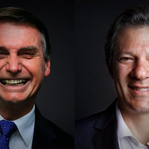Bolsonaro com 53% e Haddad com 47%, diz Pesquisa CUT/Vox