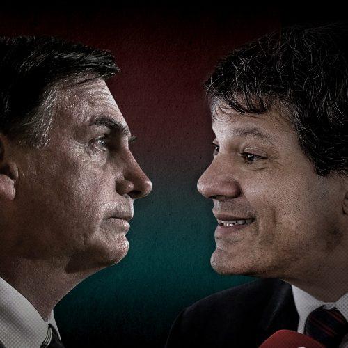 Bolsonaro 60,6 % e Haddad 39,4% dos votos válidos, diz Paraná Pesquisas