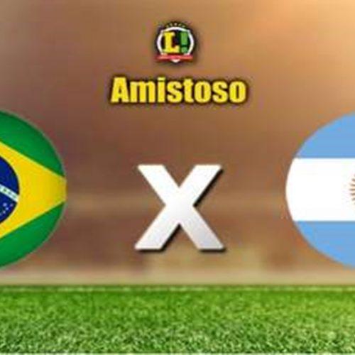 Brasil encara Argentina em amistoso e busca futebol 'convincente'