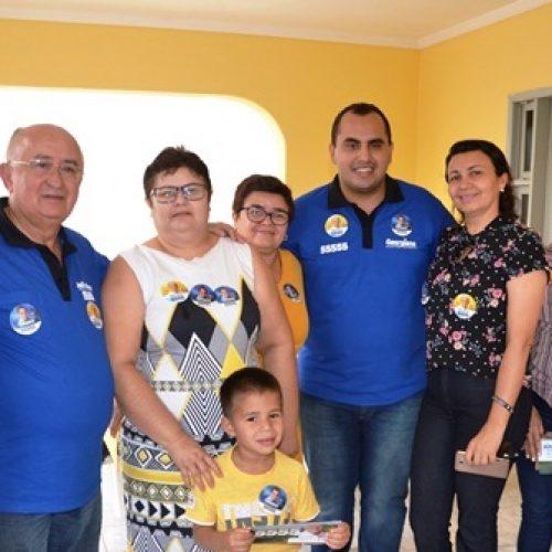 CALDEIRÃO GRANDE | Prefeito Vianney apresenta seus candidatos a deputado e pede o apoio da população