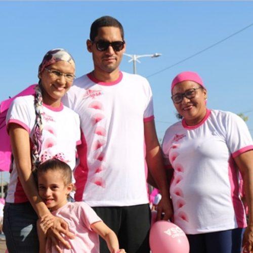Caminhada Rosa completa 20 anos no alerta para diagnóstico precoce do câncer de mama