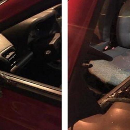 Jornalistas têm vidro de carro quebrado em ato pró-Bolsonaro e registram BO