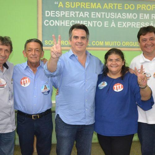 Senador Ciro Nogueira vem a Picos para acompanhar Gil Paraibano durante votação