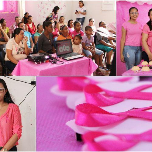 CAPS de Jaicós realiza palestra em alusão à campanha Outubro Rosa