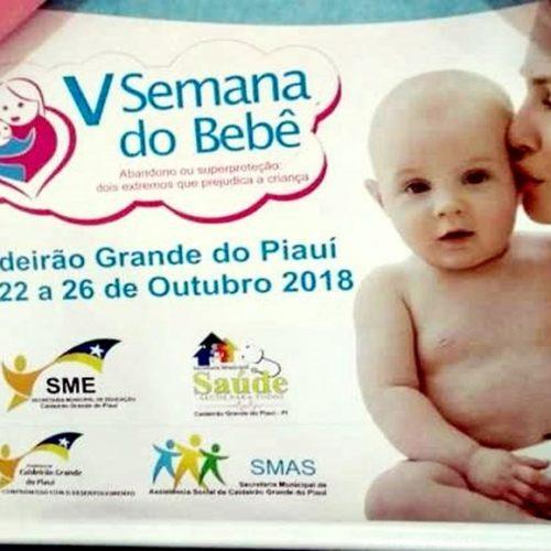 Caldeirão Grande do Piauí promove V Semana do Bebê