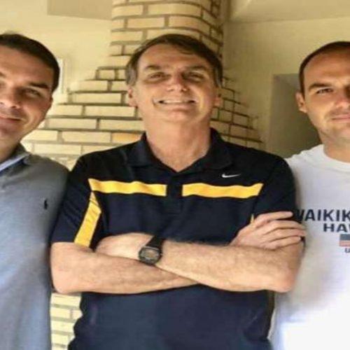 Filhos de Bolsonaro vem ao Piauí em campanha no lugar do pai