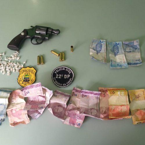 Casal é preso por tráfico de drogas no Piauí